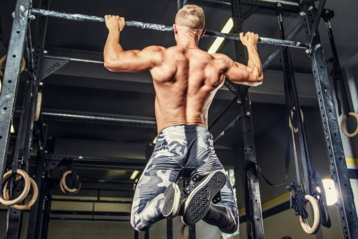 Pull-ups to increase power
