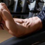 Twisting on an incline bench