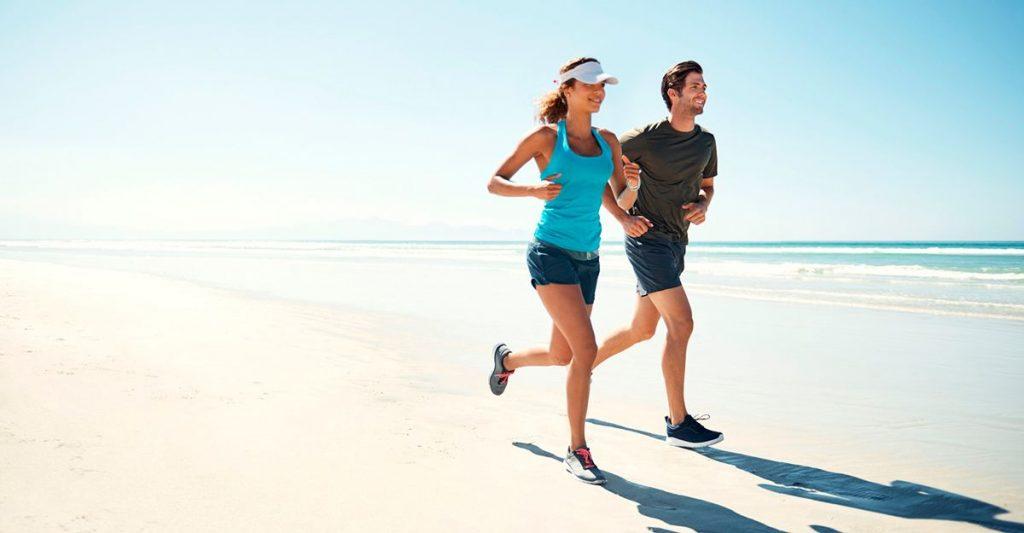 advantage of running